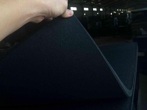 Dalle caoutchouc 15mm bi-couche en 1mx1m
