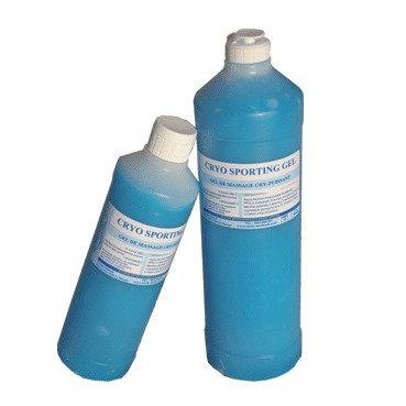 Cryosporting gel glaçant