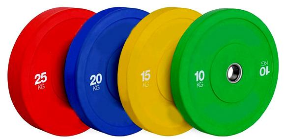 Bumper plates série premium