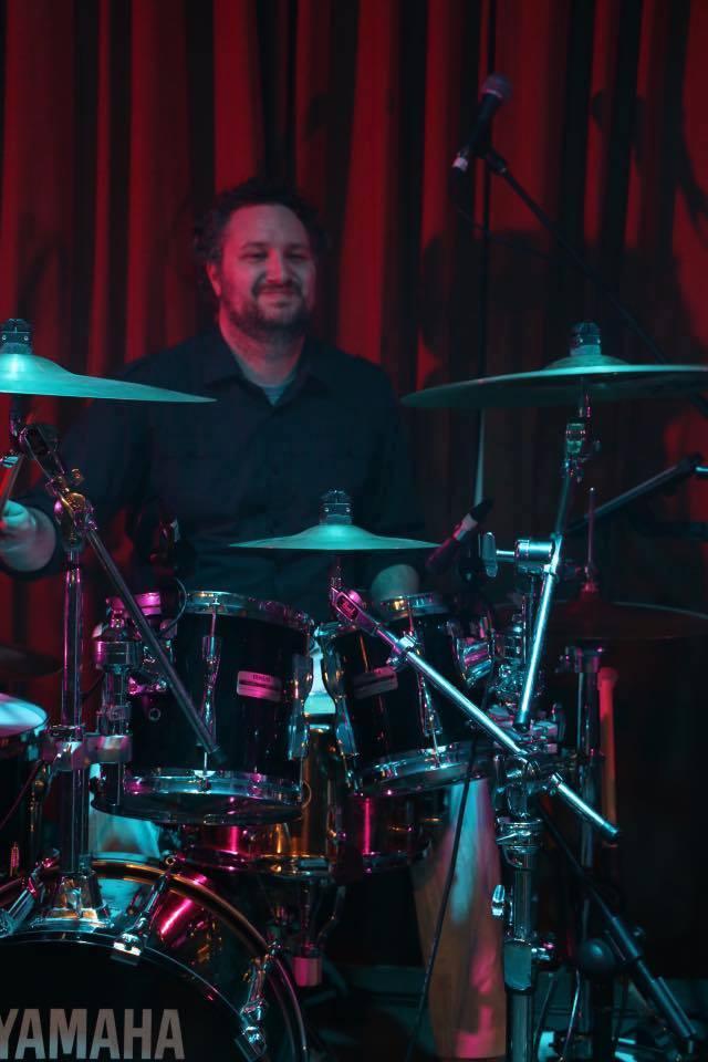 Hayden on Drums