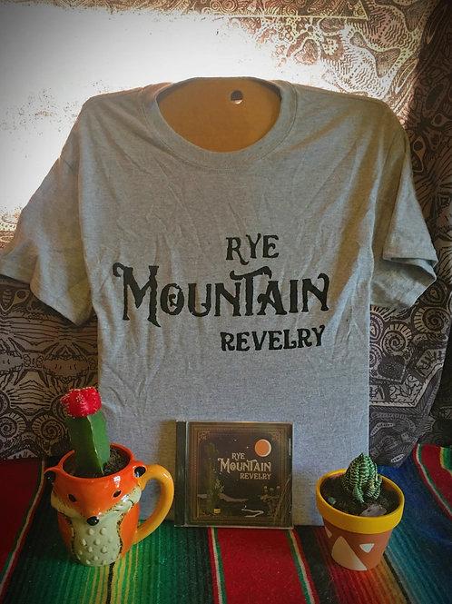 EP CD + Grey Logo T-Shirt
