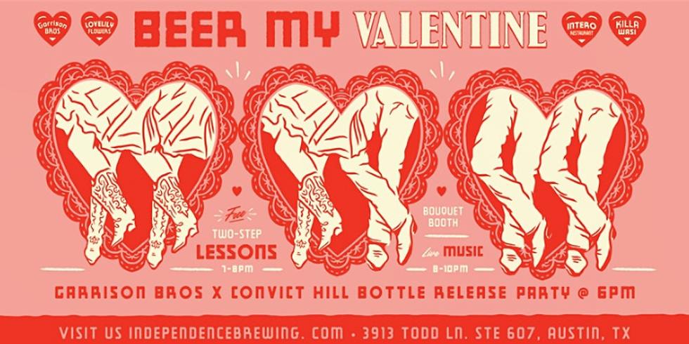 Beer My Valentine at Independence Brewery