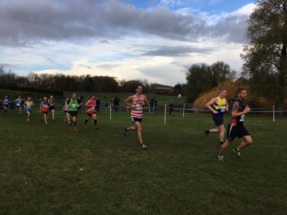 Will Harrison making his cross country debut for the Hoops.