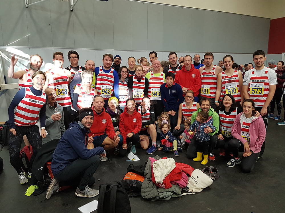 The Hoops turned out in force for the Fred Hughes 10!