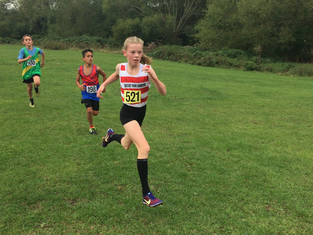 North West London Young Athletes Cross Country League, Greenford