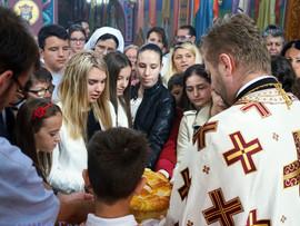 Слава омладине Светог Николаја Жичког у Берну