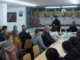 Духовна трибина у Берну и предавање оца Василија