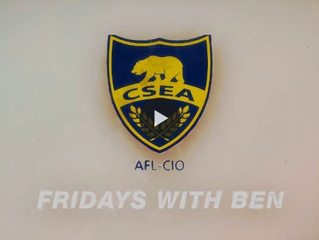 Fridays with Ben: Support members affected by the fires!