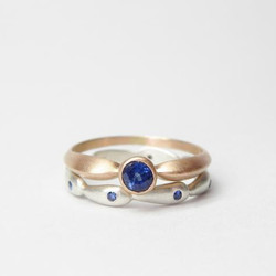 A New Collection of Rolling Hills Rings by Hannah Blount Jewelry