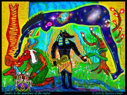 Anubis, guardians of the source