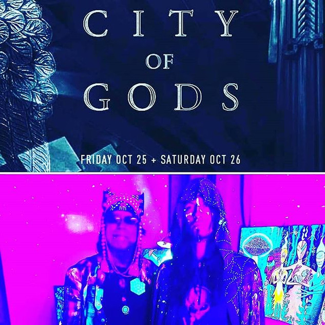 October 25 & 26th.we are psyched to be p