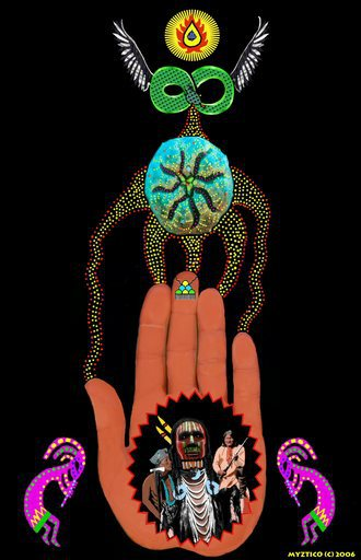Native American Peyote Hand