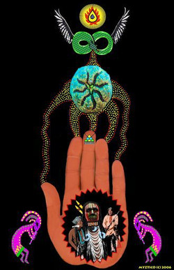 Native American Peyote Hand