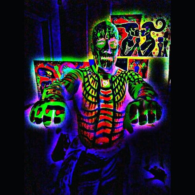 #blackrose #halloween #burningman #burne