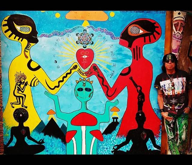 """Infinite Love"" mural @underhillwalls, BK"