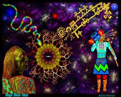 Hopi Blue Star