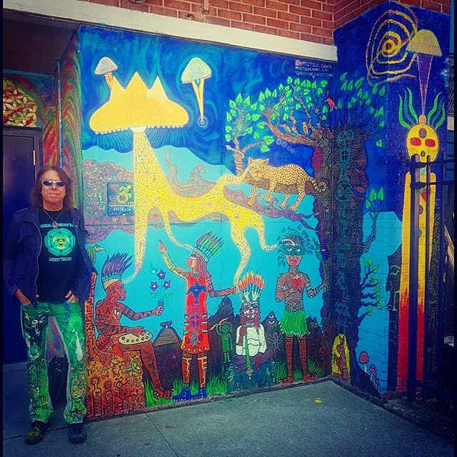 """""""Question Everything"""" mural @PS9"""