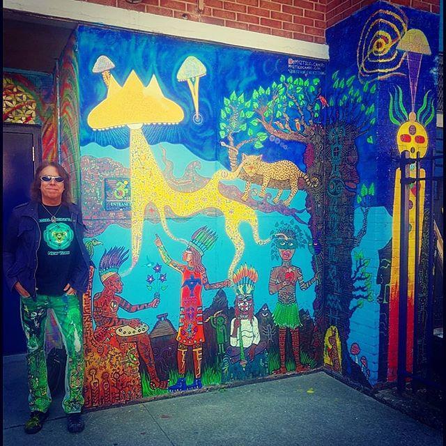 There's Art magic manifesting, my mural