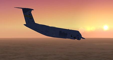 C-5ApproachingDyessAFBatSunset.jpg
