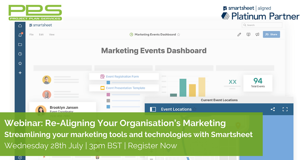 Smartsheet for Marketing Webinar