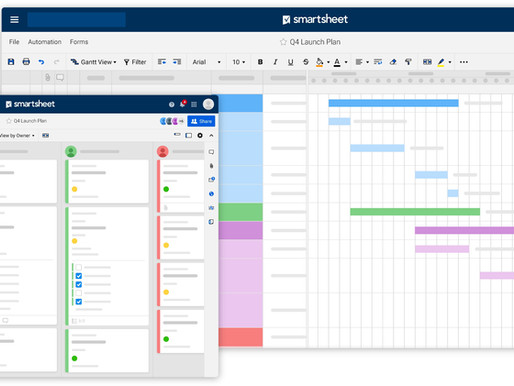Smartsheet is much more than a planning tool...