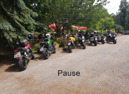 Motorradfortbildung Weserbergland