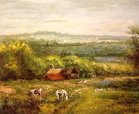 Деревенский пейзаж