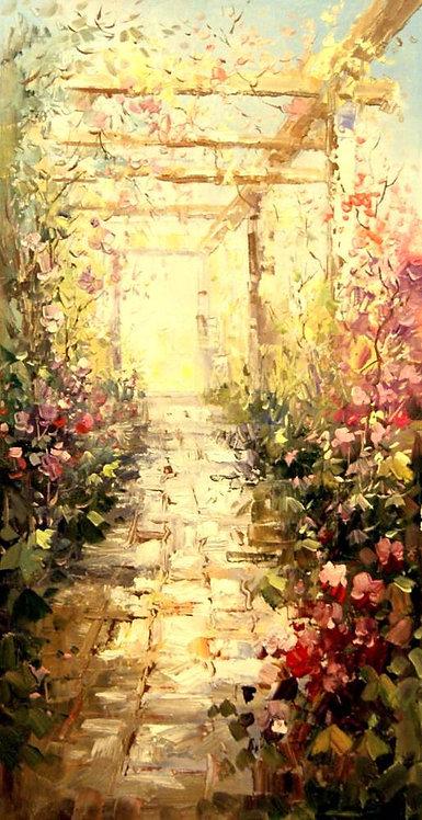 Веранда в цветах