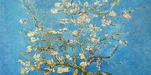 Цветущие ветки миндаля (копия Ван Гога)