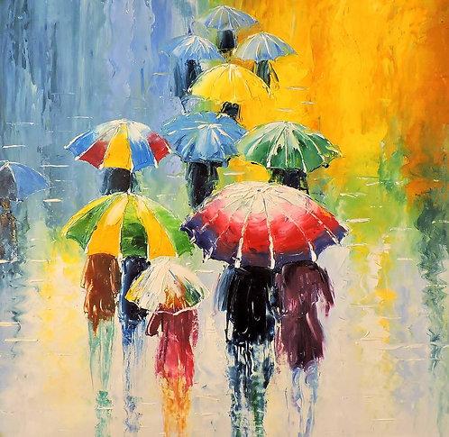 Радужный дождь