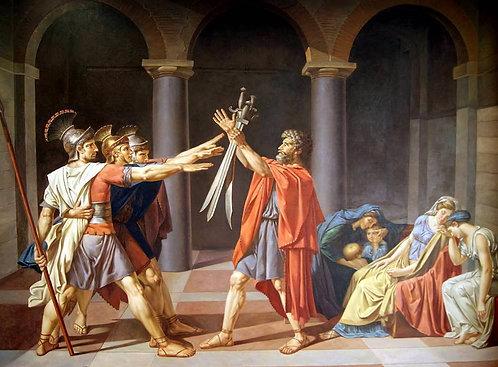 Клятва Горациев (копия Давида)