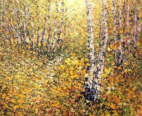 Полянка. Золотая осень