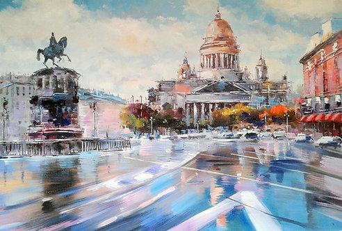Летний Санкт-Петербург