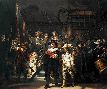 Ночной дозор (копия Рембрандта)