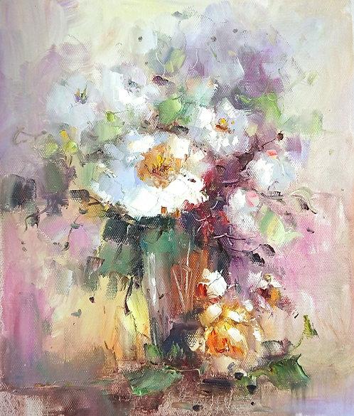 Букет нежных цветов (Анемоны)