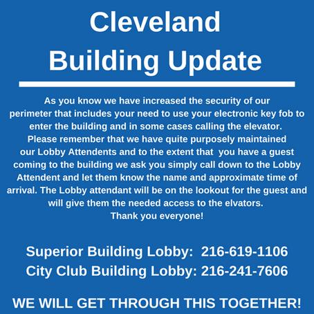 Cleveland Coronavirus Update