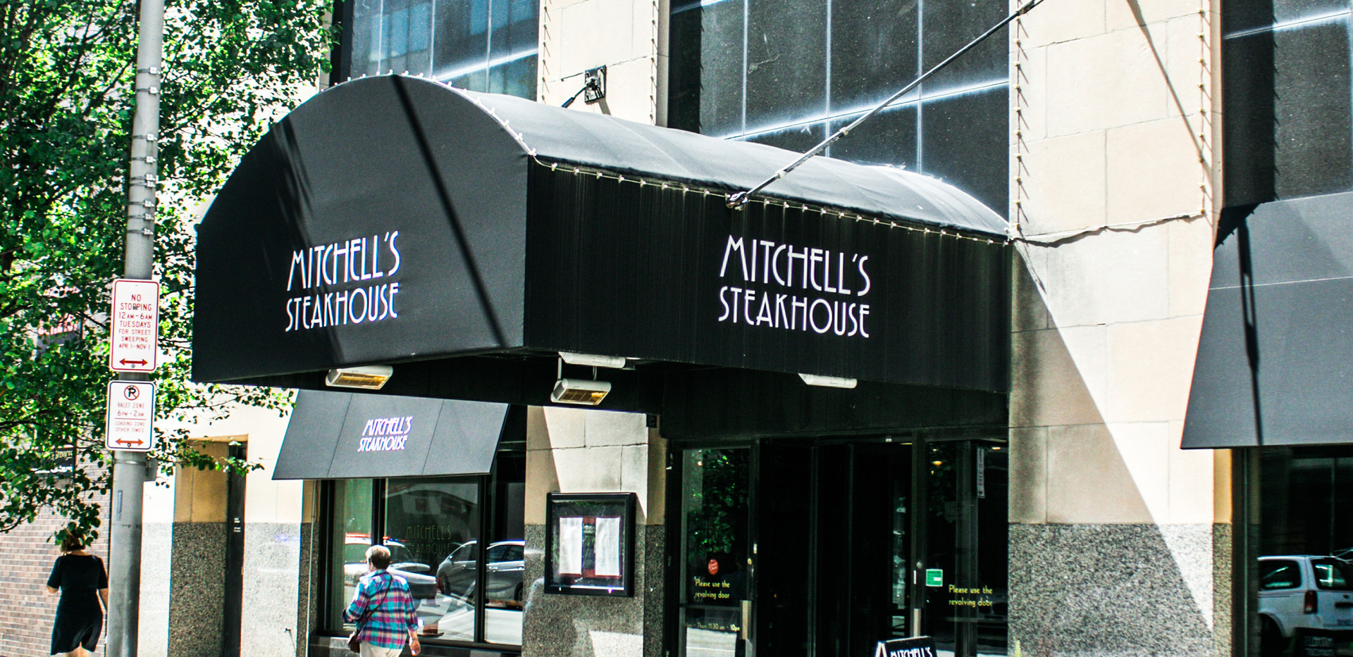 Shares building with Mitchell's Steakhouse