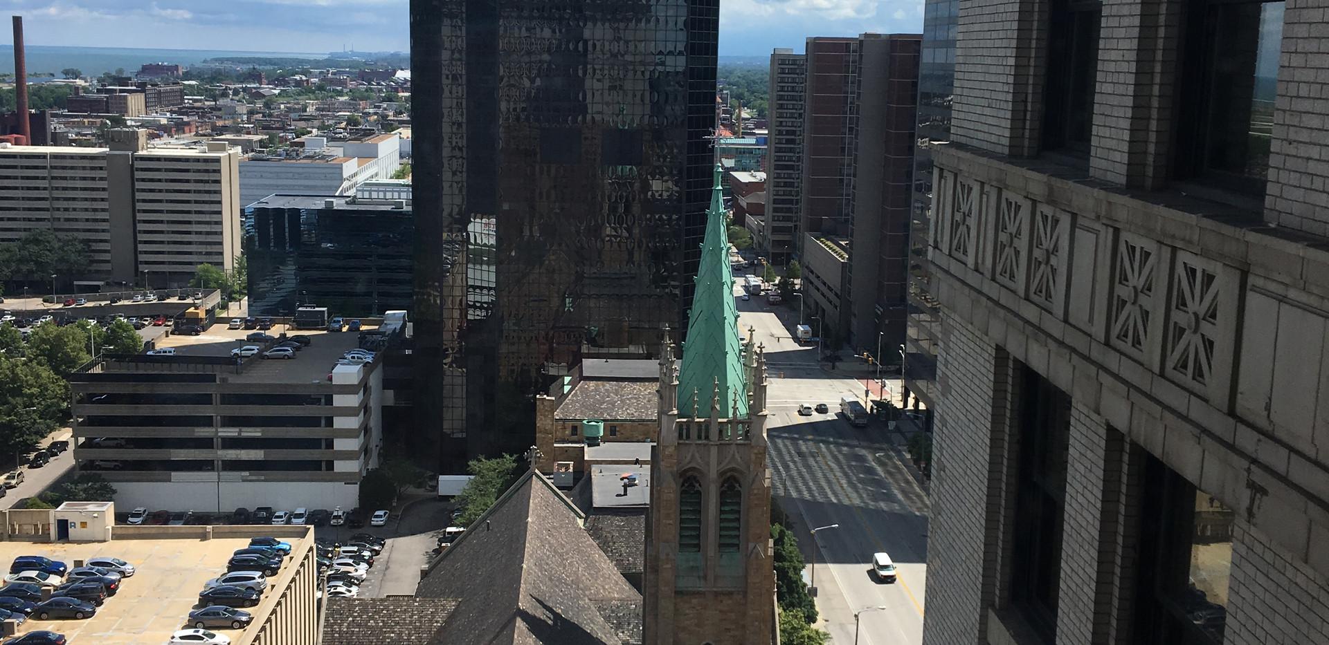 City Club Building view