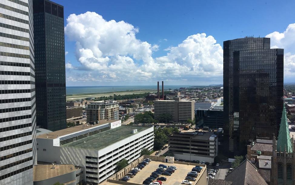 City Club Building lake view