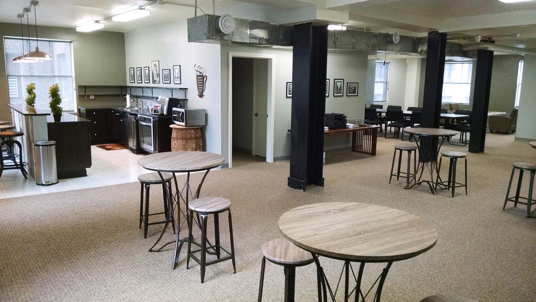 Executive office lounge