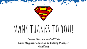 Special Thank You To Our Supermen