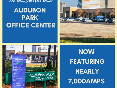 Increase in Electric Power Coming to Audubon Park Office Center