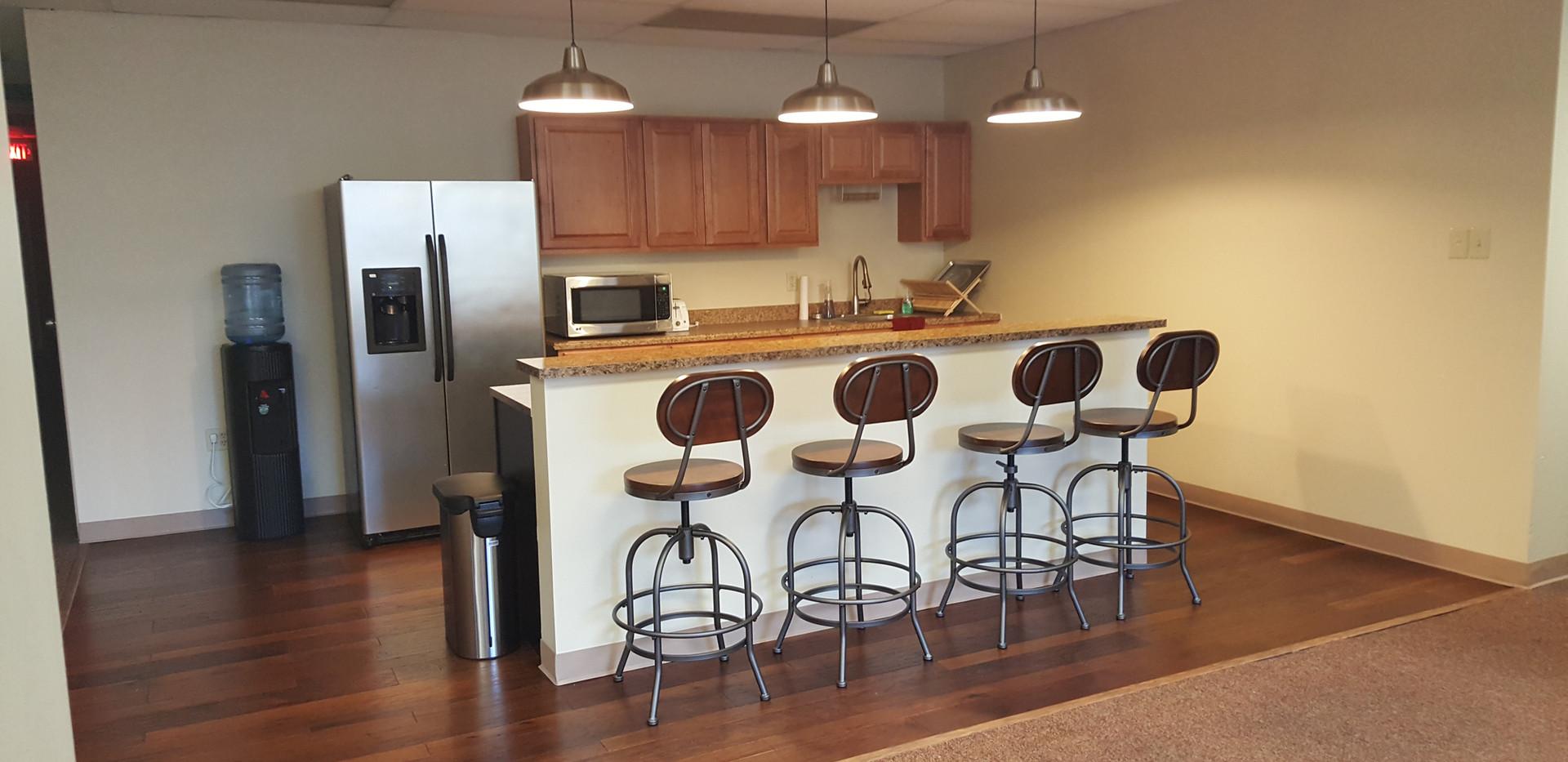 Superior Office Suites Kitchen
