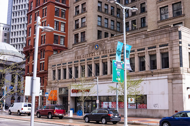 The Historic City Club Building Cleveland