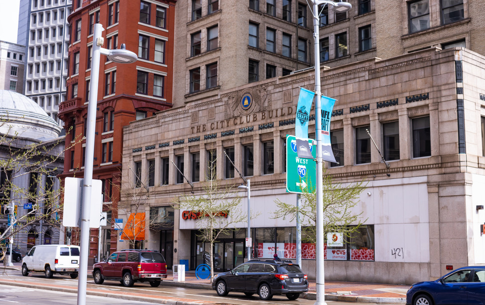 City Club Building Entrance