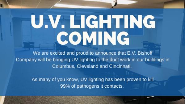 U.V. Lighting office update
