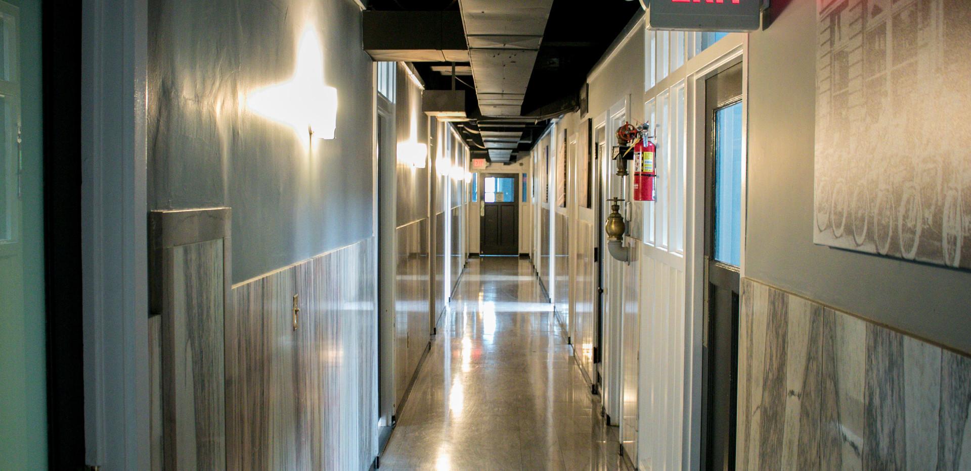 Ninth Floor Hallway