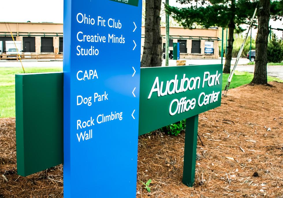 Audubon Park Office Center Entrance