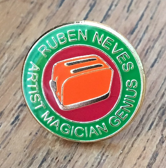 NEVES Toaster Badge (Green/Red/Gold) RN16