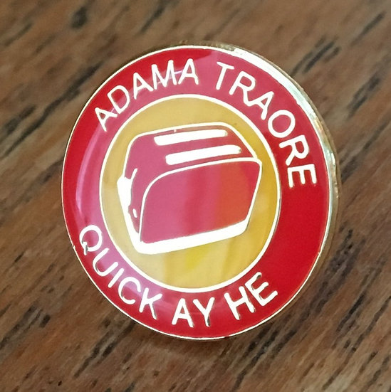 ADAMA TRAORE Toaster Badge (Red/Yellow/Red) AT7